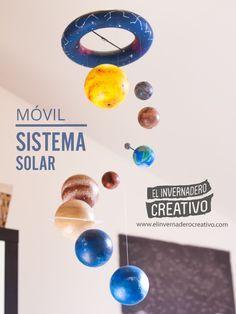 Este móvil representan los principales objetos del sistema solar. Un proyecto realizado para www.astroaficion.com con el que realizarán divulgación de la...
