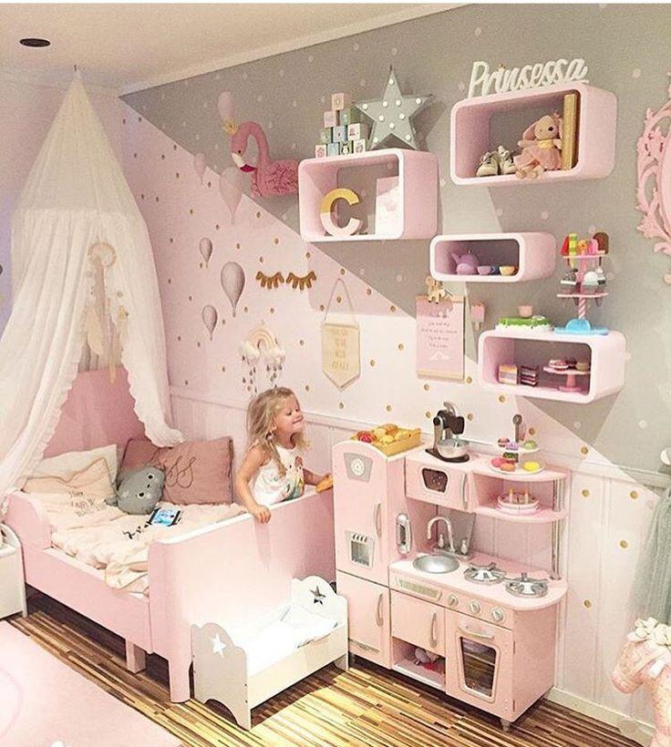 Best 25+ Pink Girl Rooms Ideas On Pinterest