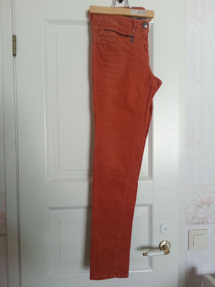 My favorite jeans - orange color