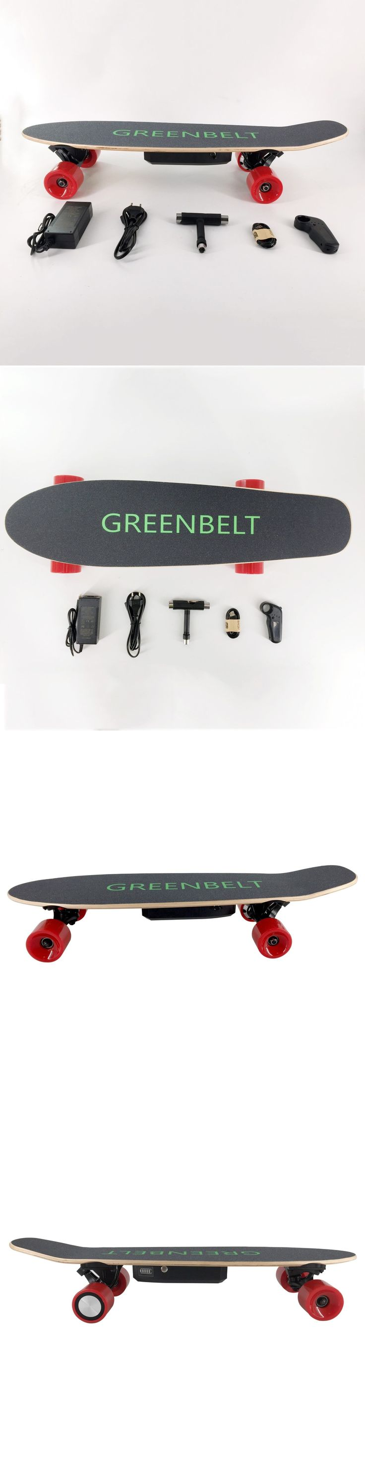 Skateboards-Complete 16264: 29 7-Layer Maple Electric Skateboard With Remote Control And Charger -> BUY IT NOW ONLY: $139 on eBay!