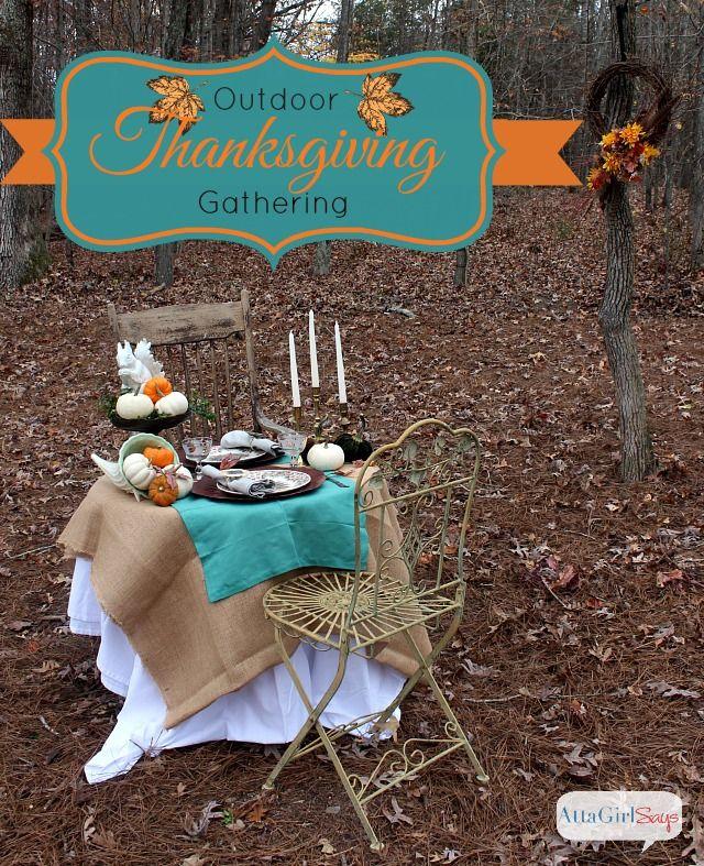 Best ideas about outdoor thanksgiving on pinterest