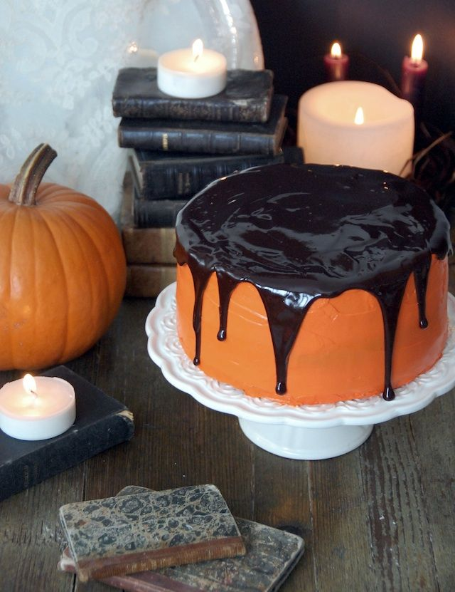 Pumpkin chocolate cake #pumpkin #halloween #chocolate