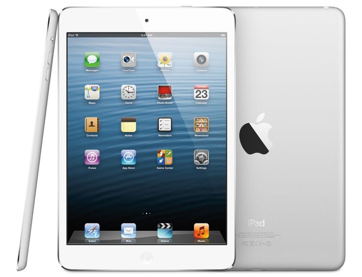 Apple iPad Mini with Wi-fi, 16 GB in white. http://www.zocko.com/z/JG9vd