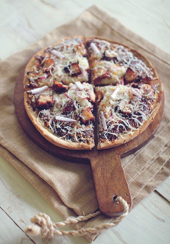 BBQ Chicken Flatbread Pizza