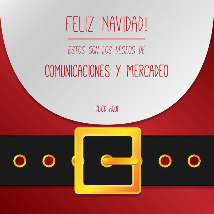 Tarjeta navidad Mercadeo y Comunicaciones Universidad del sinu 2014