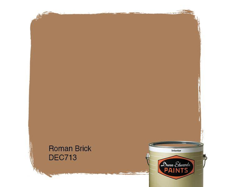 Dunn edwards paints paint color roman brick dec713 for Dunn edwards paint colors