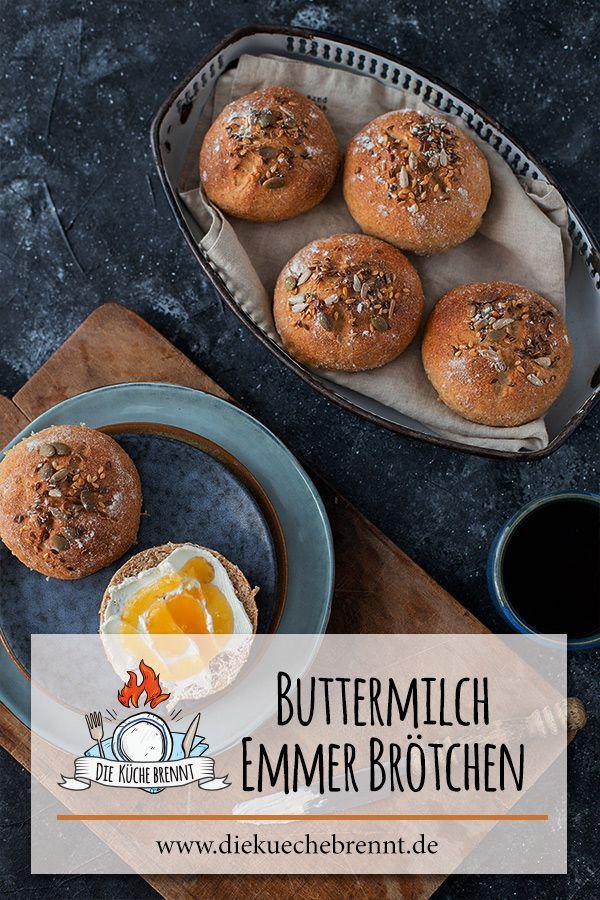 Emmermehl Brotchen Rezept Mit Buttermilch Rezept Buttermilch Rezepte Rezepte Buttermilch