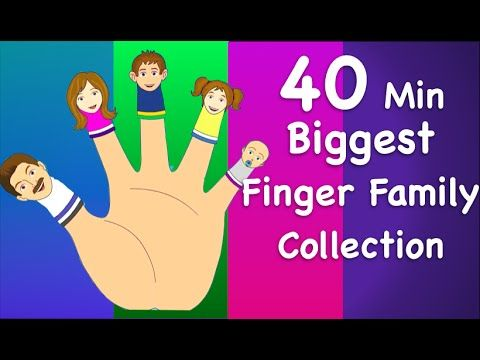 Finger Family Collection | Non-Stop 40 Minutes | Biggest Collection of Finger Family For Children - YouTube