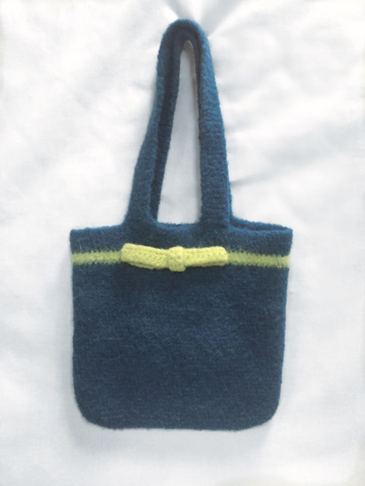 Navy Purse, Women's Purse, Navy Crochet Purse, Felted Purses, Ladies Tote, Small Wool Bag, Classic, Navy and Green, Felted Tote, by CalyisDesignsPurses on Etsy https://www.etsy.com/ca/listing/482164213/navy-purse-womens-purse-navy-crochet