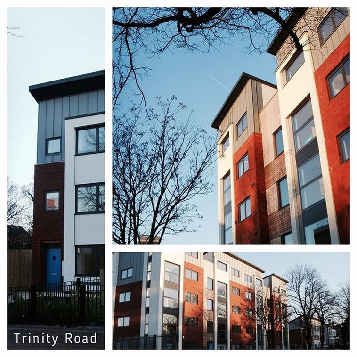 As part of #ThrowbackThursday we present Trinity Road. A housing scheme in Liverpool completed In 2007 for Riverside Housing Association. #Architecture #home #modern #flats #brick #render