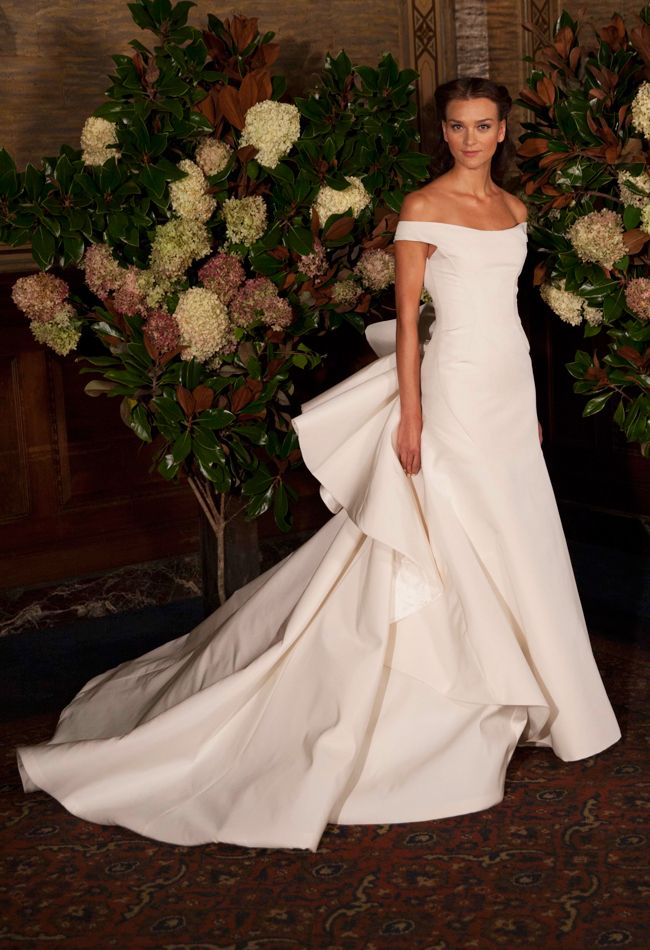 austin scarlett wedding gowns | Austin Scarlett Wedding Dresses Fall 2015: Bridal Fashion Week Photos!