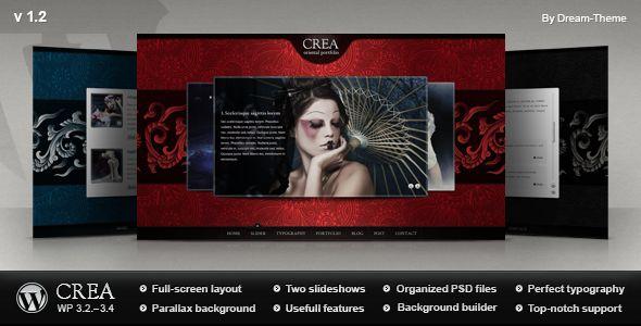 Crea WP - Portfolio Creative