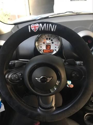 Mini Cooper Countryman Clubman Steering wheel cover - I love MINI