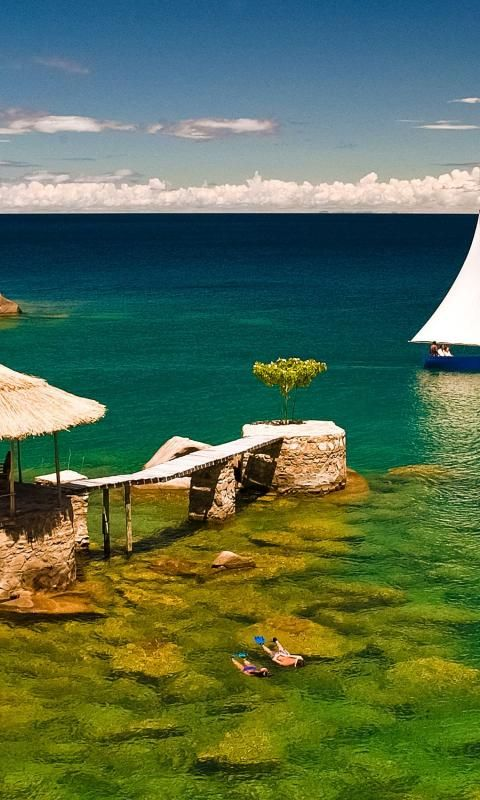 Ah, Lake Malawi. The perfect place to swim, sail, and escape your way to paradise! #GoSeeMalawi.