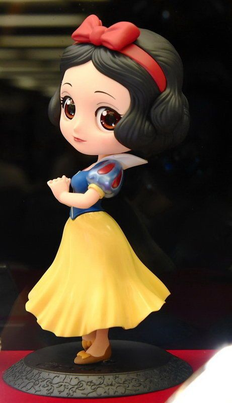 Details About Banpresto Q Posket Disney Princess Snow
