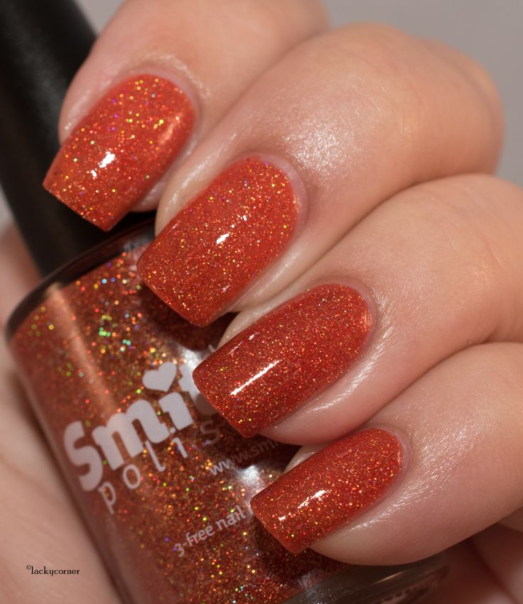 Lacky Corner: Reader's Choice - Smitten Polish Orange You Glad It's Pun-kin…