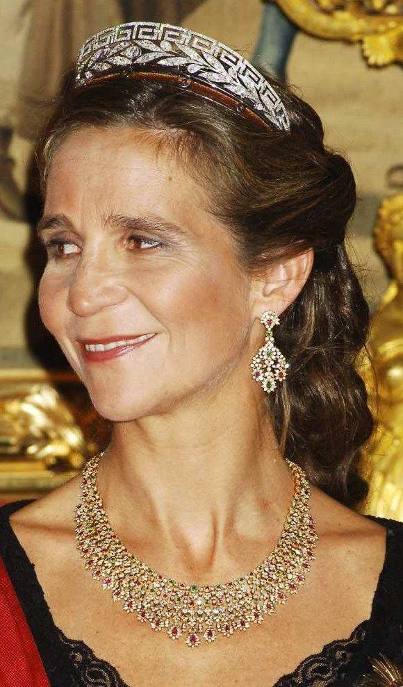 De Marichalar tiara - Infanta Elena.