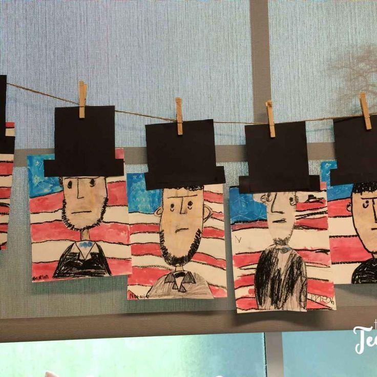 Abe Lincoln art