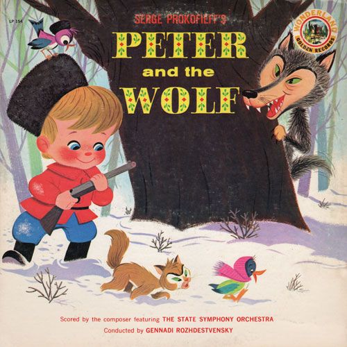 """Prokofiev's """"Peter and the Wolf"""" taught me that music could convey the entire range of human emotions. The version I enjoyed as a child was an LP narrated ..."""