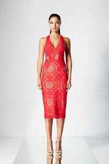 WINONA Illusion Lace 3/4 Dress