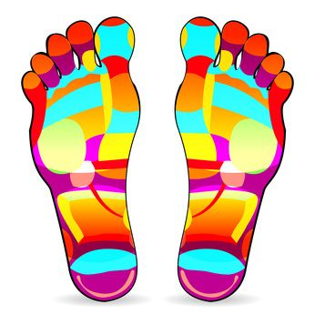 Reflexology Sandals, now theres a thing!!! Available at http://reflexologysandals.com