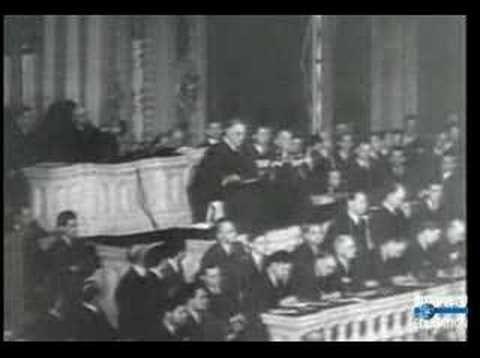 CultureVIDEO: President Franklin D. Roosevelt delivers his Pearl Harbor address on December 8, 1941.