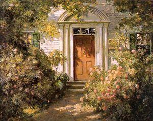 Grandmother's Doorway 1900  Abbott Fuller Graves