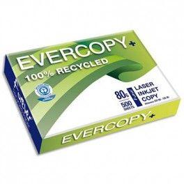 Ramette de papier Evercopy Plus fabriqué à partir de papier 100% recyclé