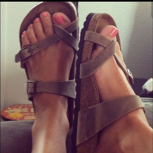 Birkenstock Mayari Sandals Brand new got them as a gift and they are too big for me. Birkenstock Shoes Sandals