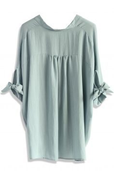 Casual Twist Smock Top in Lavender - Retro, Indie and Unique Fashion