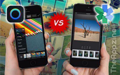 PicsArt vs Snapseed, photo editing Apps comparison