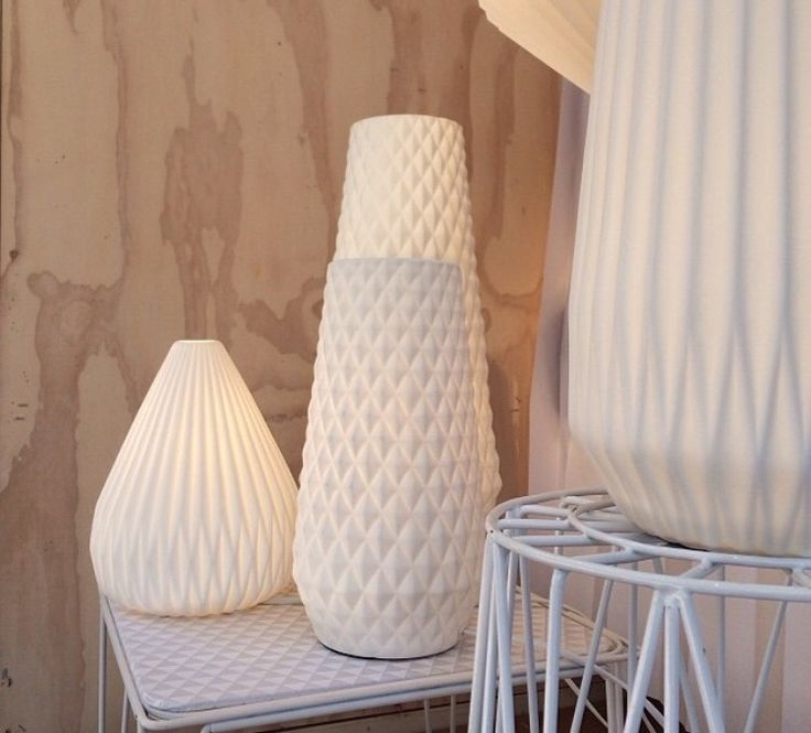 Porcelain Lamps from www.ikoiko.co.nz