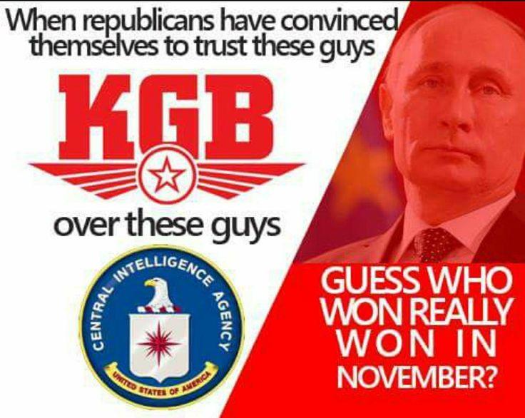 Image result for trump KGB