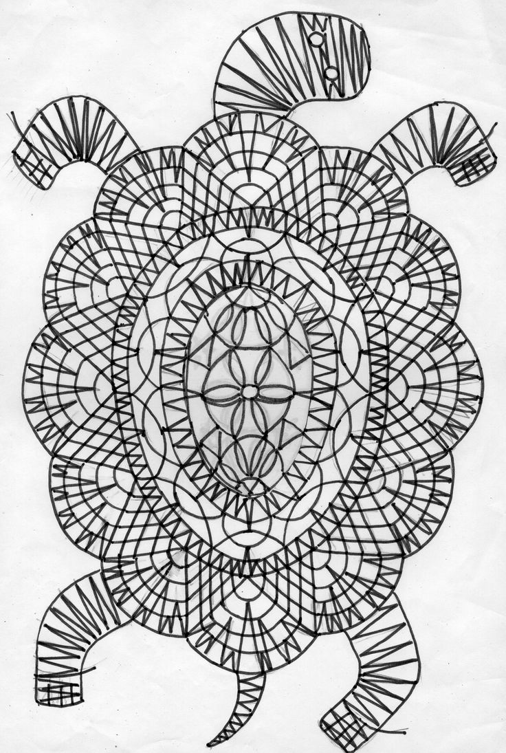 черепаха сколок