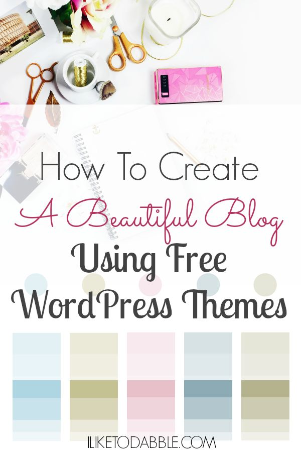 Anyone can create a blog with WordPress. The reason WordPress has rose to it's status of usability is how easy it is to create a website or blog for someone who has no website development experience what-so-ever. WordPress is also a free platform that includes free WordPress themes that form the look and feel of your site or blog.