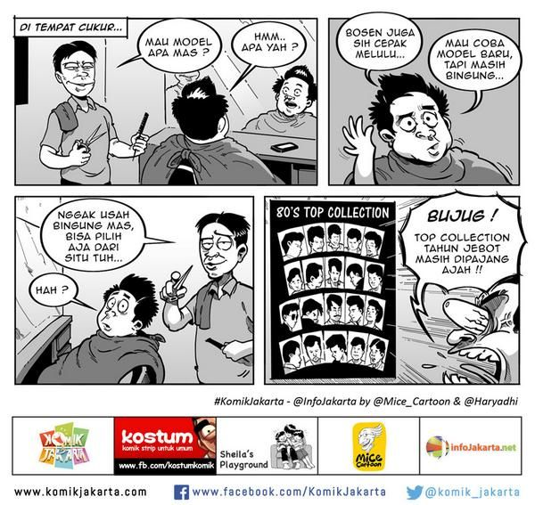 Cukur Top Collection #KomikJakarta @haryadhi