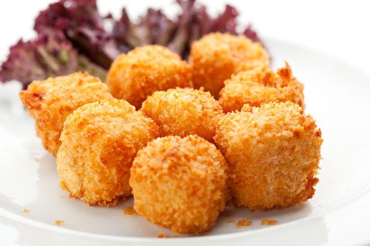 Deep Fried Mozzarella Cheese Balls | Appetizers | Pinterest