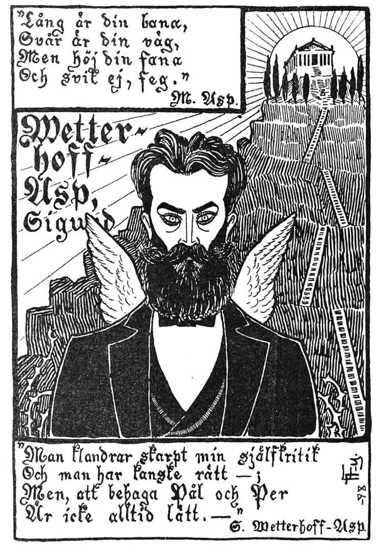 Wettenhovi-Aspa (Wetterhoff-Asp) Fyren magazine 13.4.1898
