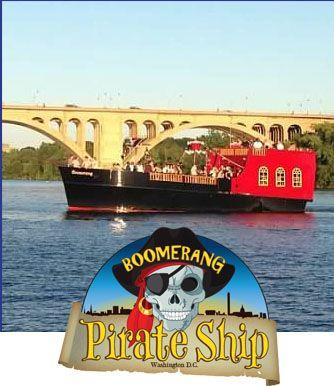 The Boomerang Pirate Ship Dmv Dc Md Va Dmv