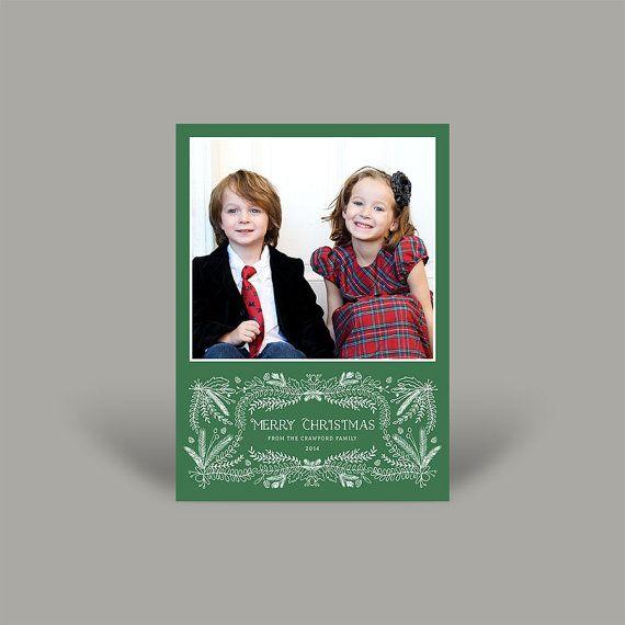 Merry Christmas 5x7 Christmas Card (10 pk)