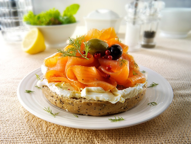 Smoked salmon, Salmon and Sandwiches on Pinterest