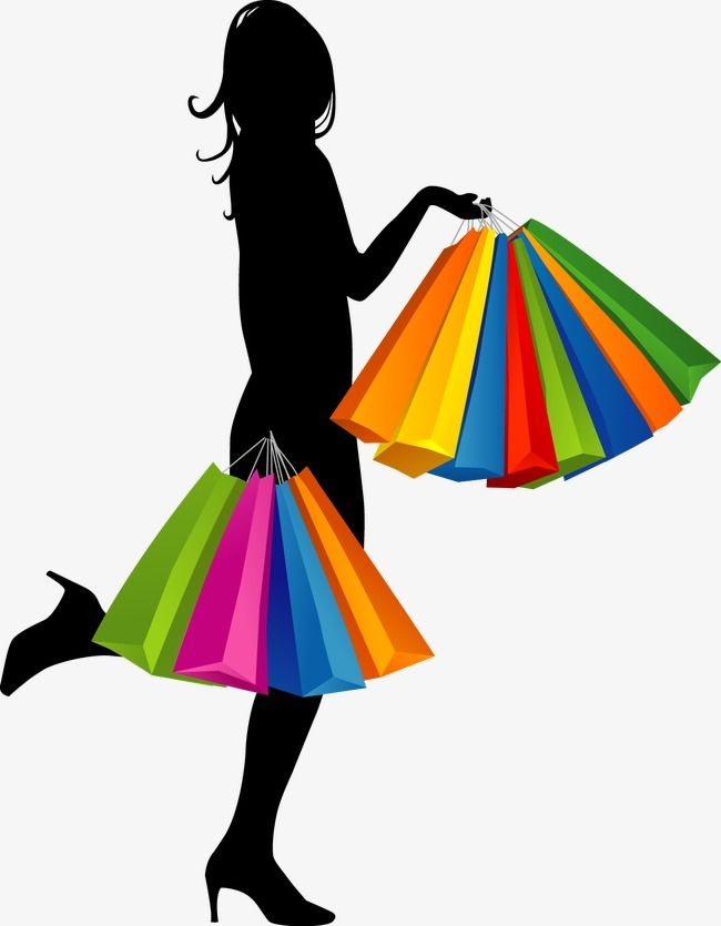 Cartoon Fashion Girl Shopping Ideias de loja Loja virtual roupas femininas Fundo para fotografia