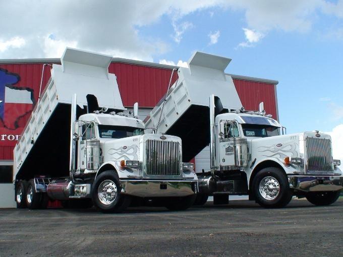 2001 Pete 379 Dump Trucks http://www.truckertotrucker.com/