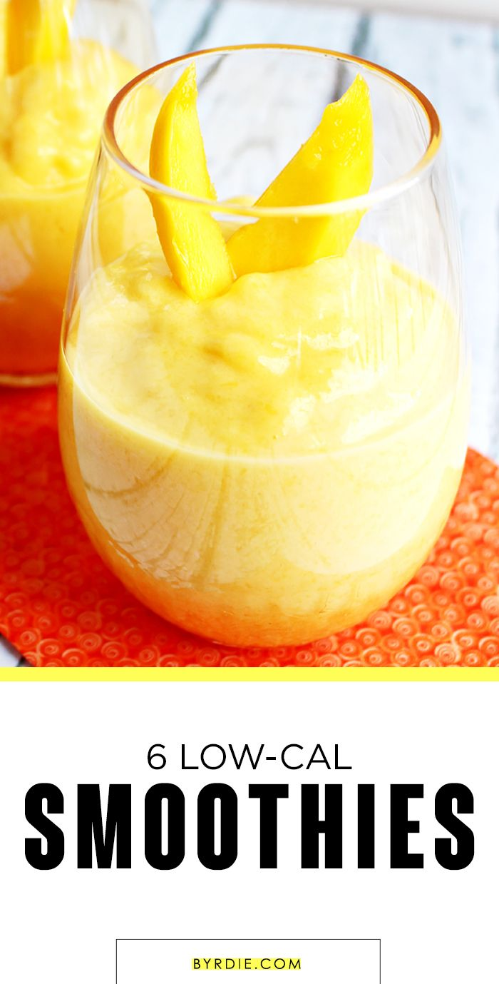 6 easy-to-make smoothies that are healthy and delicious -- all under 250 calories!