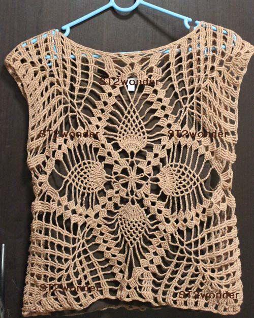Bloggang.com : ST2Wonder - เสื้อถักไหมพรม จากแบบหนังสือประดิดประดอย มีนา