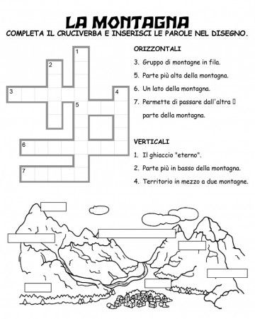 Geografia 3 on italian map