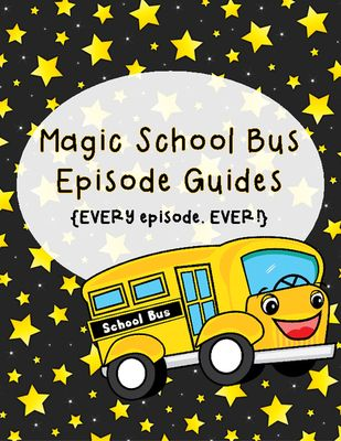 Magic School Bus Science Videos! Enter for your chance to win 1 of 3.  Magic School Bus Episode Guides - Complete Guide to ALL episodes (56 pages) from Third Time's a Charm! on TeachersNotebook.com (Ends on on 1-30-2015)  Win this packet that contains a video guide for students to complete as they watch any magic school bus video!