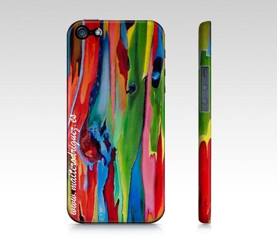 Iphone Case Corteza Arcoiris 2 - Maite Rodriguez Art Gallery