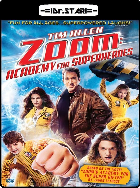 Zoom (2006) Hindi Dubbed [HDRip] Full movies, Free