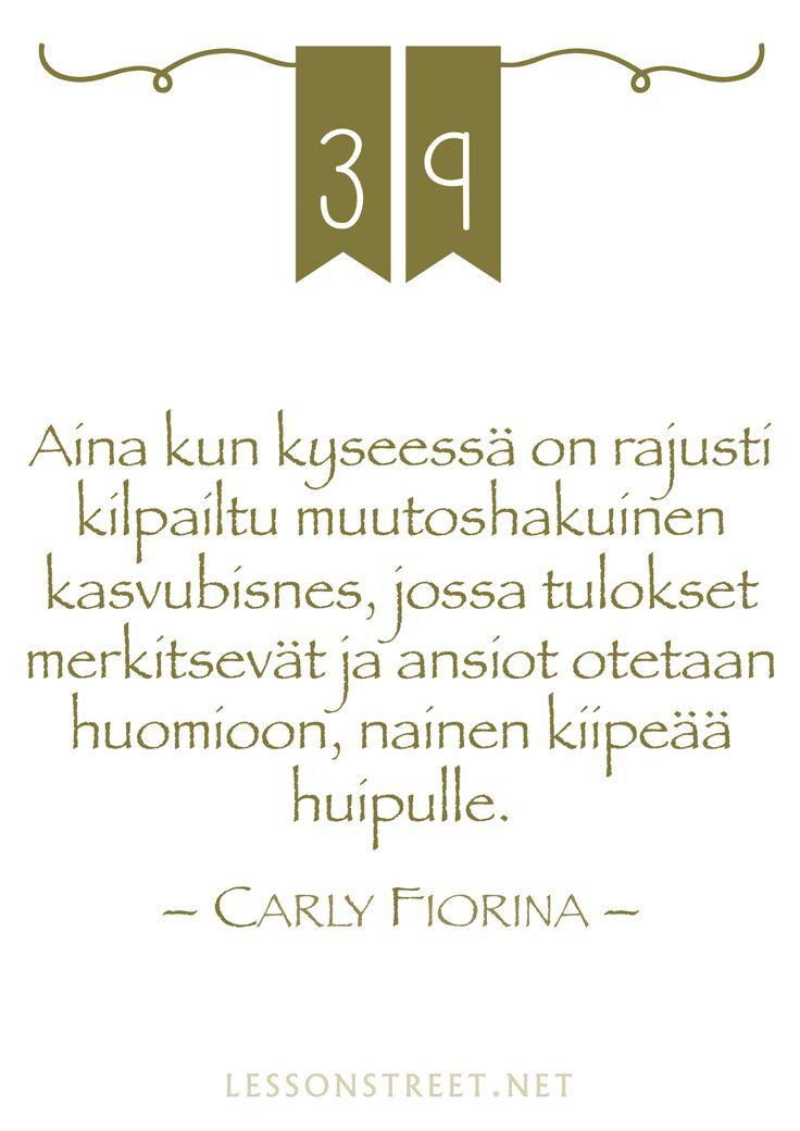 #39 Carly Fiorina
